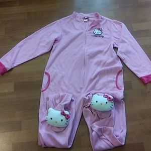 hello kitty pj suit